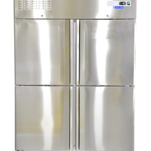 1390 Liter 4 Door Blue Star Stainless Steel Vertical Freezer