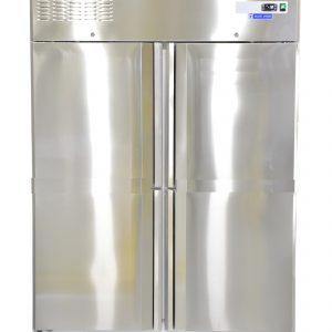 Double Door Vertical Freezer
