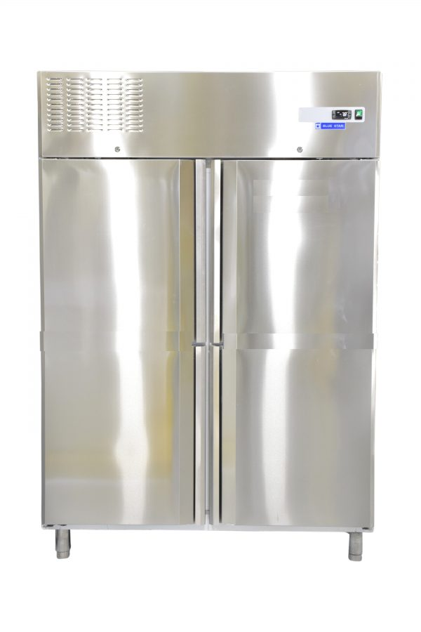 Double Door Vertical Freezer