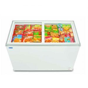 200 Liter Glass Top Deep Freezer